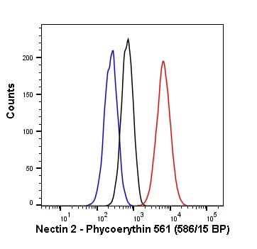 Flow Cytometry - PE Anti-Nectin 2 antibody [EPR6717] (ab237121)