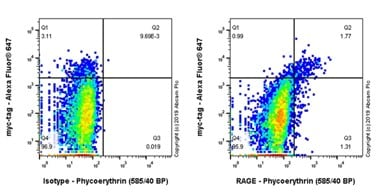 Flow Cytometry - PE Anti-RAGE antibody [EPR21171] (ab237363)