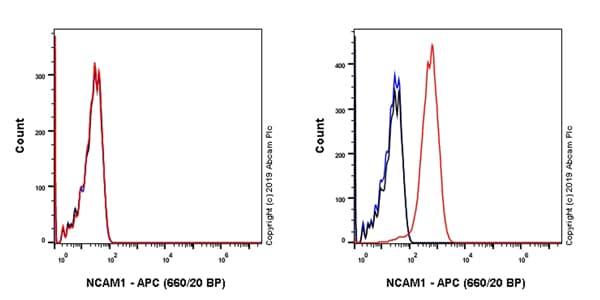 Flow Cytometry - APC Anti-NCAM1 antibody [EPR21827] (ab237383)