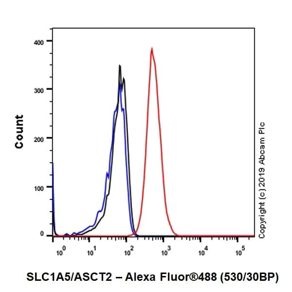 Flow Cytometry - Anti-SLC1A5/ASCT2 antibody [CAL33] (ab237704)