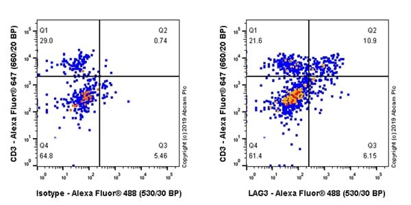 Flow Cytometry - Anti-LAG-3 antibody [CAL25] (ab237718)