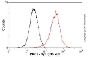 Flow Cytometry - Anti-PRC1 antibody [EP1513Y] - BSA and Azide free (ab238427)