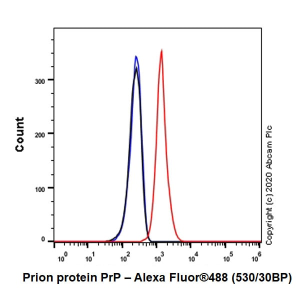 Flow Cytometry - Anti-Prion protein PrP antibody [EP1802Y] - BSA and Azide free (ab238428)