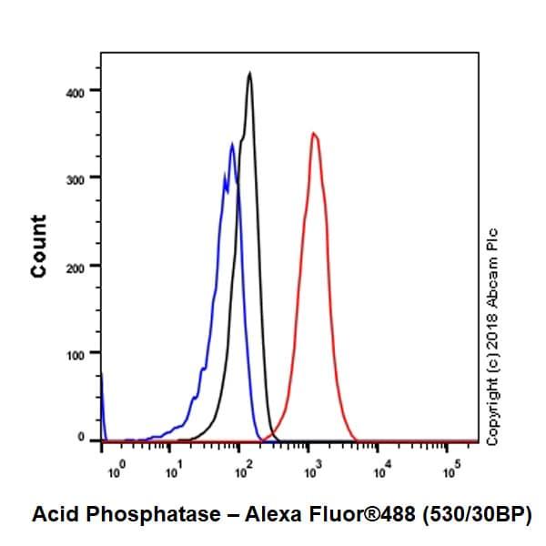 Flow Cytometry - Anti-Acid phosphatase antibody [EPR21787] - BSA and Azide free (ab238888)