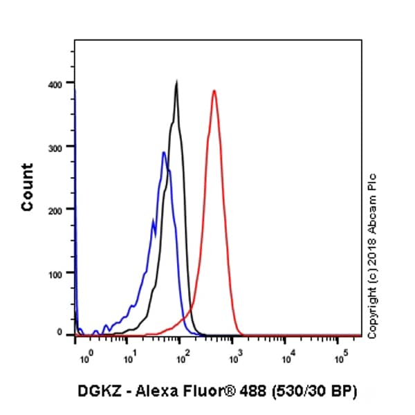 Flow Cytometry - Anti-DGKZ/DGK-zeta antibody [EPR22040-72] (ab239080)
