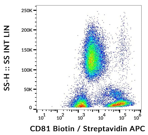 Flow Cytometry - Anti-CD81 antibody [M38] (Biotin) (ab239238)