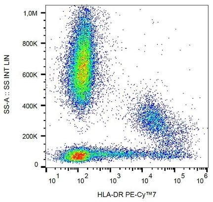 Flow Cytometry - Anti-HLA-DR antibody [L243] (PE/Cy7 ®) (ab239318)