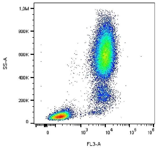 Flow Cytometry - Anti-CD13 antibody [WM15] (PE-DyLight™ 594) (ab239330)