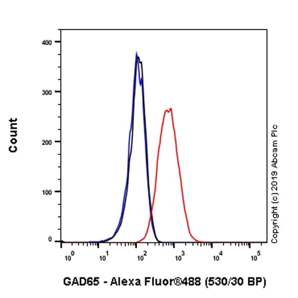 Flow Cytometry - Anti-GAD65 antibody [EPR22952-70] (ab239372)