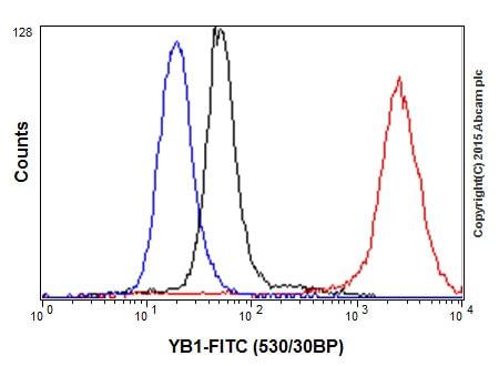 Flow Cytometry - Anti-YB1 antibody [EP2708Y] - BSA and Azide free (ab239875)