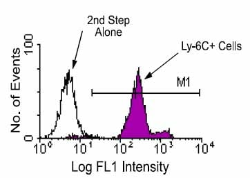Flow Cytometry - Anti-Ly6c antibody [HK1.4] (ab24973)