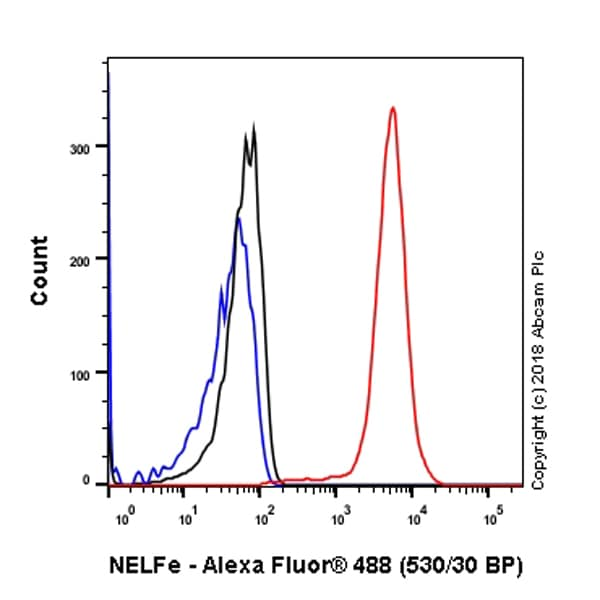 Flow Cytometry - Anti-NELFe antibody [EPR11600] - BSA and Azide free (ab240158)