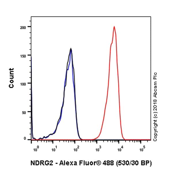 Flow Cytometry - Anti-NDRG2 antibody [EPR11910] - BSA and Azide free (ab240181)