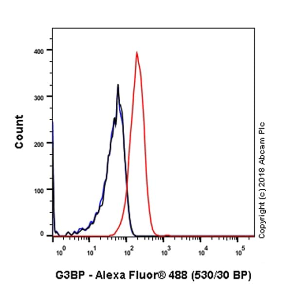 Flow Cytometry - Anti-G3BP antibody [EPR13986(B)] - BSA and Azide free (ab240247)