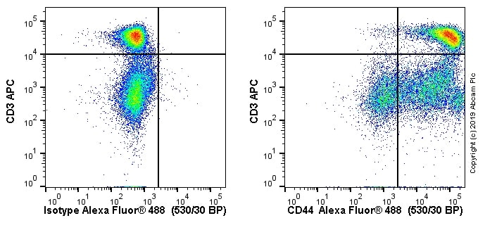 Flow Cytometry - Anti-CD44 antibody [OX50] - BSA and Azide free (ab244581)