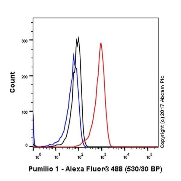 Flow Cytometry - Anti-Pumilio 1 antibody [EPR3795] - BSA and Azide free (ab247584)