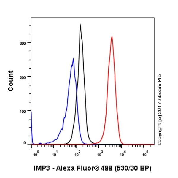 Flow Cytometry - Anti-IMP3 antibody [EPR12021] - BSA and Azide free (ab249982)