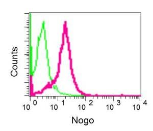 Flow Cytometry - Anti-Nogo antibody [EPR12266] - BSA and Azide free (ab250023)