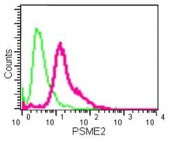 Flow Cytometry - Anti-PSME2 antibody [EPR14931] - BSA and Azide free (ab250700)