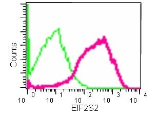 Flow Cytometry - Anti-EIF2S2/EIF2B antibody [EPR15833(B)] - BSA and Azide free (ab250752)