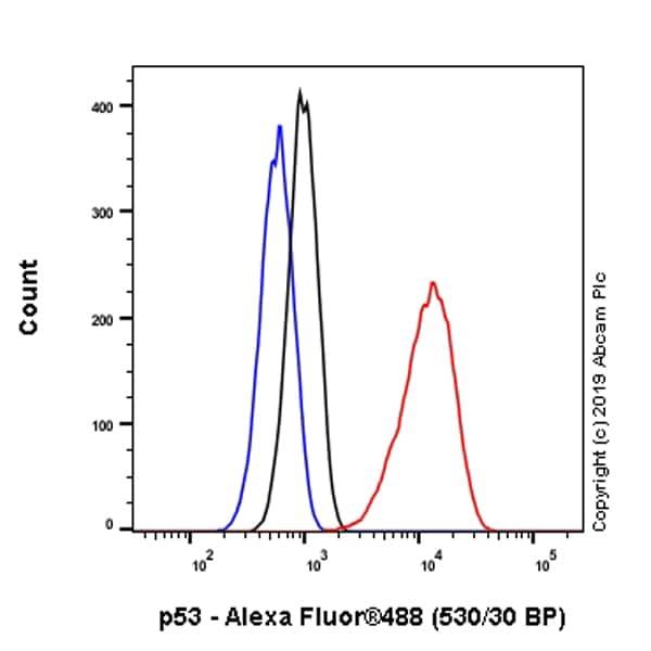 Flow Cytometry - Anti-p53 antibody [EPR20416-120] - BSA and Azide free (ab252380)
