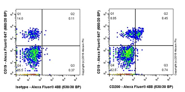 Flow Cytometry - Anti-CD200 / OX2 antibody [EPR22412-53] - BSA and Azide free (ab254213)