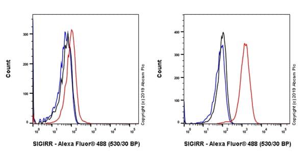 Flow Cytometry - Anti-SIGIRR antibody [EPR22438-93] - BSA and Azide free (ab256314)
