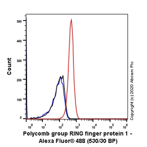 Flow Cytometry - Anti-PCGF1 antibody [EPR23757-38] (ab259943)