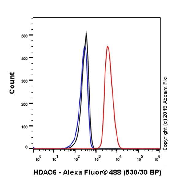 Flow Cytometry (Intracellular) - Anti-HDAC6 antibody [EPR22951-29] - BSA and Azide free (ab264565)