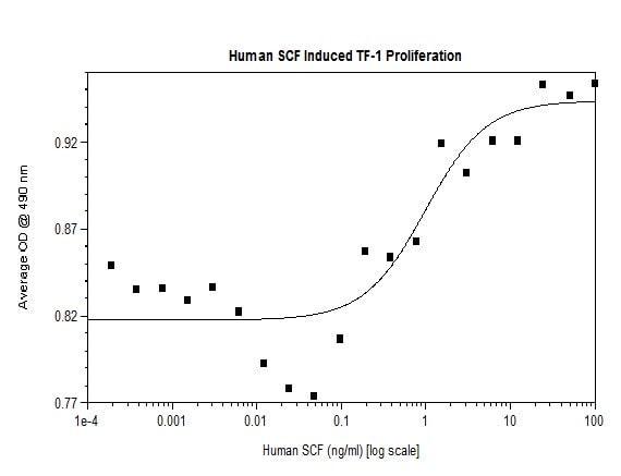 Functional Studies - Recombinant human SCF protein (Active) (ab269144)