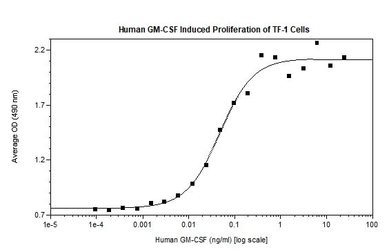 Functional Studies - Recombinant human GM-CSF protein (Active) (ab269146)