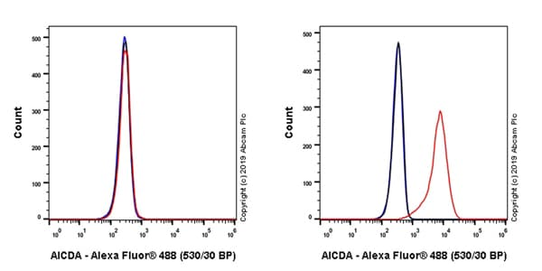 Flow Cytometry - Anti-AICDA antibody [EPR23436-45] (ab269454)