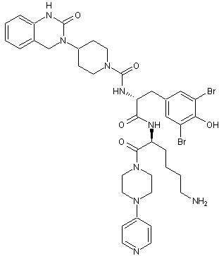 Chemical Structure - Olcegepant, CGRP antagonist (ab269696)