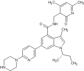 Chemical Structure - GSK126, EZH2 methyltransferase inhibitor (ab269816)