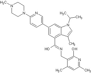 Chemical Structure - GSK503, EZH2 methyltransferase inhibitor (ab269819)
