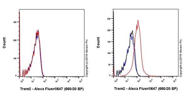 Flow Cytometry - Anti-TREM2 antibody [EPR23177-106] - BSA and Azide free (ab269868)