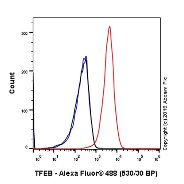 Flow Cytometry - Anti-TFEB antibody [EPR22940-151] (ab270604)
