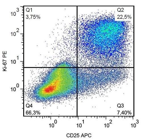 Flow Cytometry - Anti-Ki67 antibody [Ki-67] (ab270650)