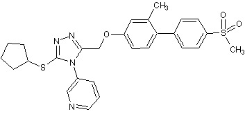 Chemical Structure - NMS-873 (ab270807)