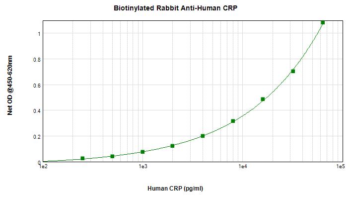Sandwich ELISA - Biotin Anti-C Reactive Protein antibody (ab271233)