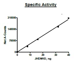 Functional Studies - Recombinant human JHDM1D protein (Active) (ab271568)