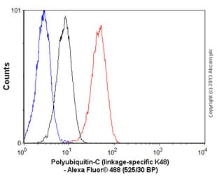 Flow Cytometry - Anti-Ubiquitin antibody [EP8589] - BSA and Azide free (ab271911)