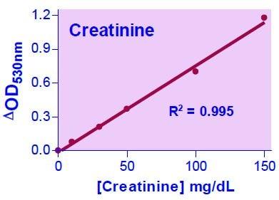 Creatinine Standard Curve