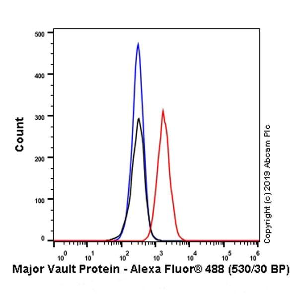 Flow Cytometry - Anti-MVP antibody [EPR23594-106] - BSA and Azide free (ab273097)