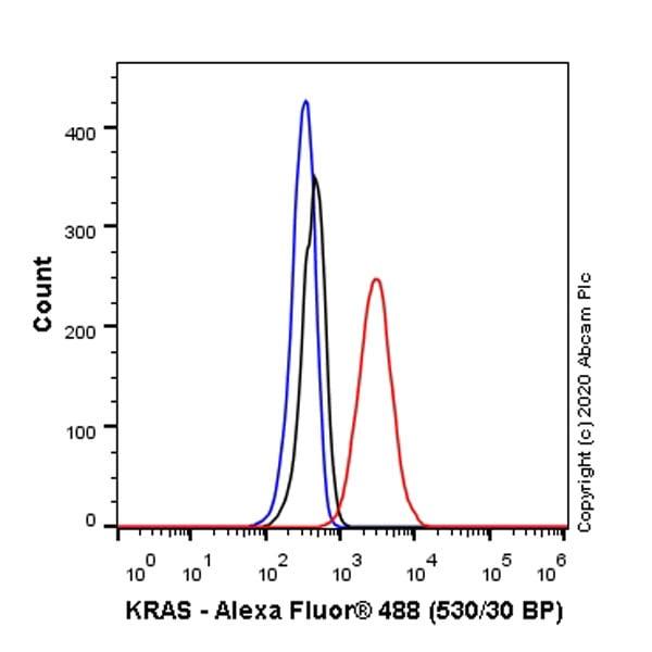 Flow Cytometry (Intracellular) - Anti-KRAS antibody [EPR23474-76] (ab275876)