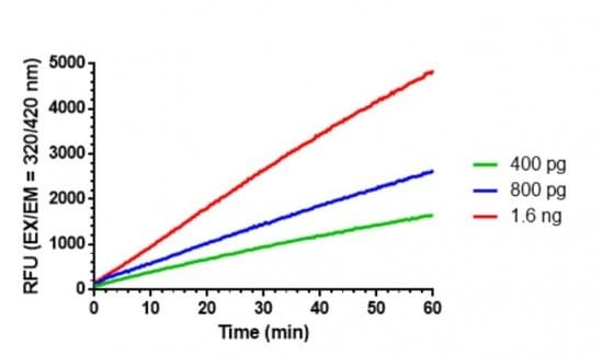 Flow Cytometry - Recombinant human ACE2 protein (Active) (ab277810)