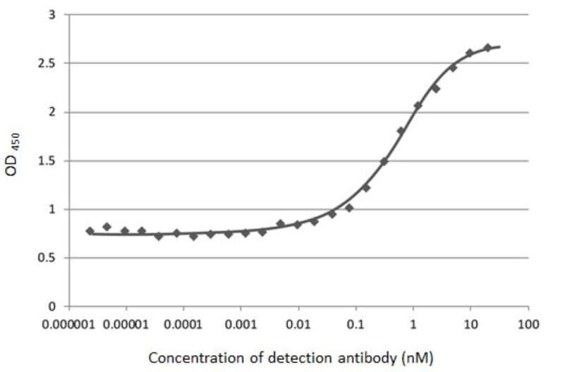 Indirect ELISA - Anti-SARS-CoV-2 Spike Glycoprotein S1 antibody [HL6] - BSA and Azide free (ab281311)