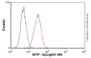 Flow Cytometry - Anti-MiTF antibody [D5] (ab3201)