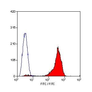 Flow Cytometry - Anti-CD44 antibody [F10-44-2] (FITC) (ab30405)