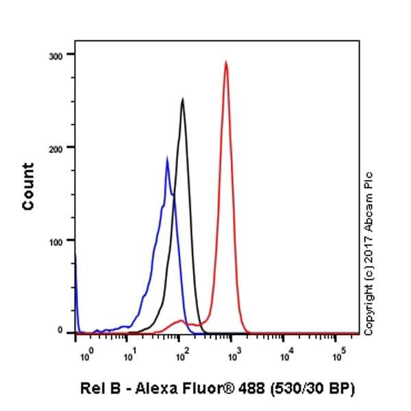 Flow Cytometry - Anti-Rel B antibody [EP613Y] (ab33917)